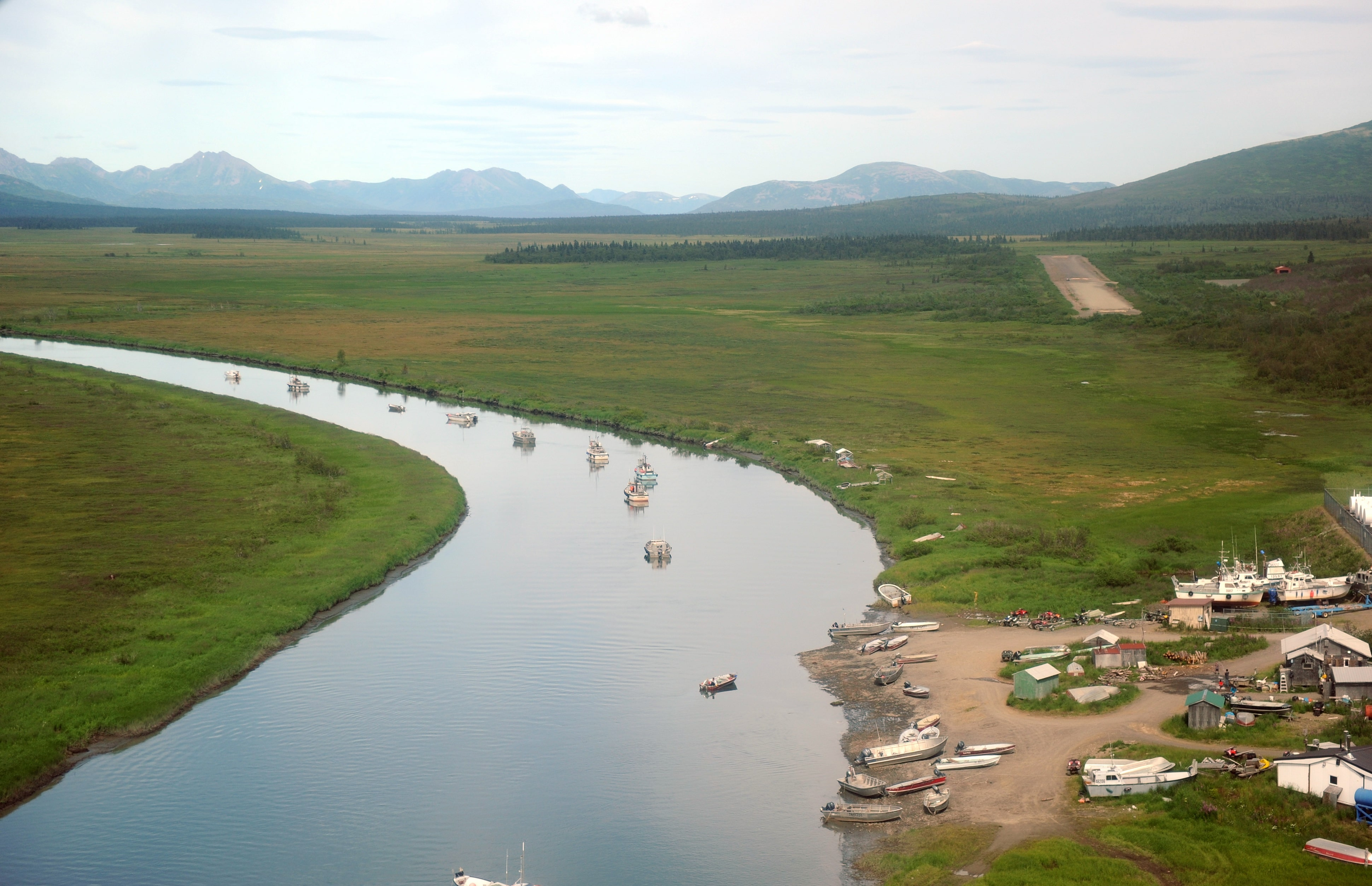 Picture of the Bristol Bay Region - Image Courtesy of the Bristol Bay Native Corporation