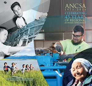 "Image of the Cover of the ARA Publication ""2016 ANCSA Economic Impact Report"""