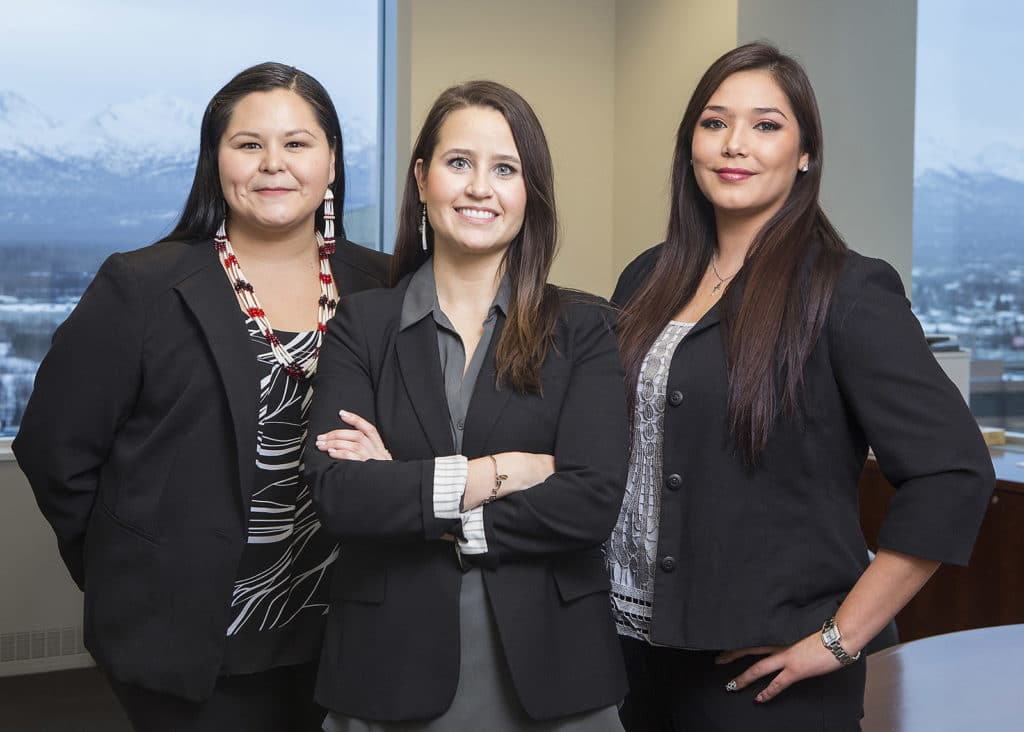 Picture of Three Alaska Native Leaders - Image Courtesy of Chugach Alaska Corporation